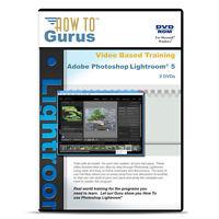 Adobe Photoshop Lightroom 5 Video Tutorial Training On 2 Dvds 9 Hours
