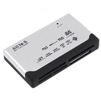 USB 2.0 ALL in One Memory Card Reader for SD XD MMC MS CF SDHC TF Micro SD 2016