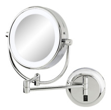 Kimball And Young 91445 Double Sided Contemporary Wall Mirror Plug In 1x And 5x For Sale Online