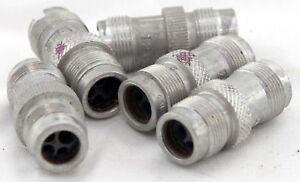 Lot-of-5-off-Plessey-Breeze-plugs-size-1-5-way-GA9