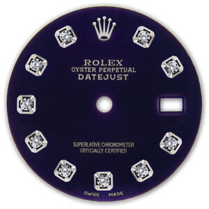 REFINED-MENS-SS-DATEJUST-PURPLE-DIAMOND-DIAL-RT-FOR-ROLEX-36