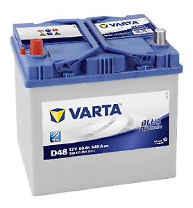 005R VARTA D48 - 12V 60AH 540A 4Yrs Wrnty 560411054 Car Battery Size 014