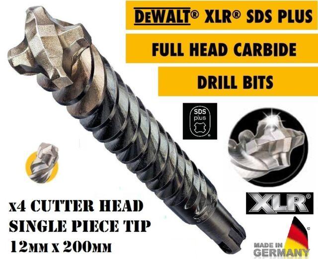 DeWalt XLR 4 Cutter Head SDS Drill Bit 10mm 160mm Pack of 1
