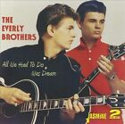 All We Had to Do Was Dream by The Everly Brothers (CD, Jan-2010, 2 Discs, Jasmine Records)