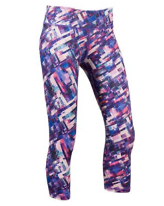 NEW prAna Women's Roxanne Printed Capris Yoga Fitness Size Medium  Retail