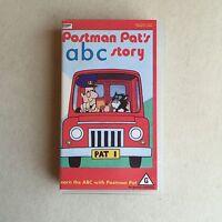 RARE 'Postman Pat's ABC Party' VHS Pal VIDEO Tape CASSETTE 1990 ~ EC
