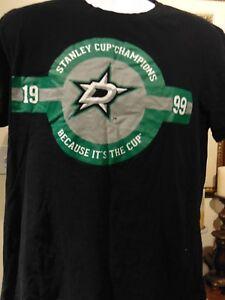 Nhl Dallas Stars 1999 Stanley Cup T Shirt Ebay