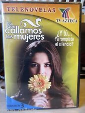 Lo Que Callamos Las Mujeres - Vol. 3 (DVD, 2007), NEW, FREE SHIPPING