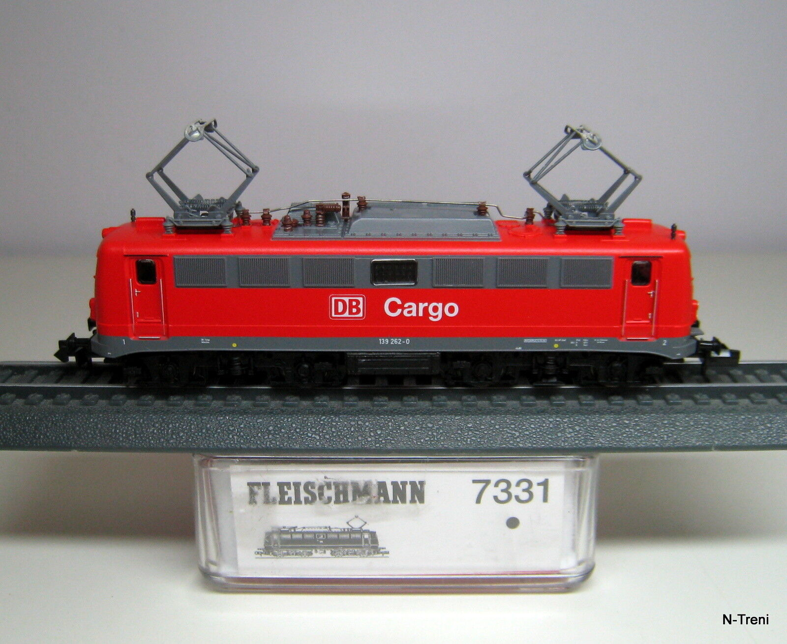 Fleischmann N 7331 - Loco elettrica universale BR 139 262-0 delle DB CocheGO, ep.V