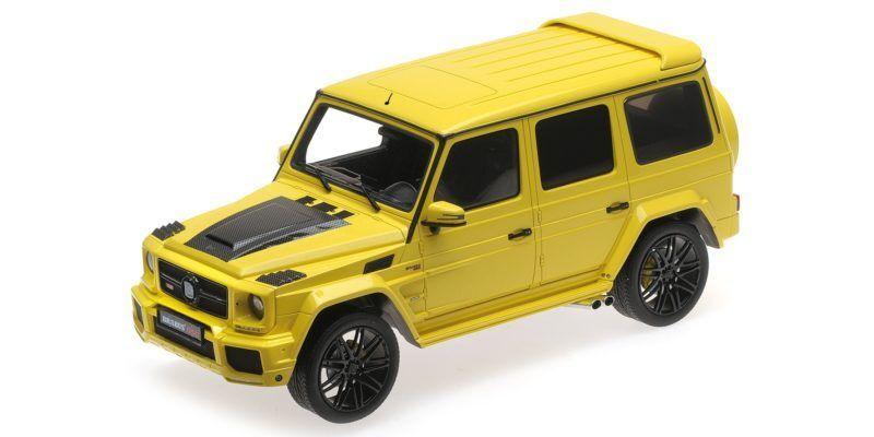 Brabus 850 6.0 Biturbo Widestar Auf Basis Mercedes Benz Amg G63 jaune 2016 1 18