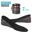 7cm-Men-Shoe-Lift-Insole-Air-Cushion-Heel-insert-Increase-Taller-Height-3-Layer miniatura 11