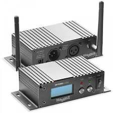 2 x DJ SLi-SKYDMX2.4 AIr Wireless WiFi Reciever D-Fi DMX Transmitter Control Hub
