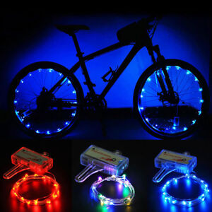 LED-Bicycle-Bike-Cycling-Rim-Lights-Auto-Open-amp-Close-Wheel-Spoke-Light-String