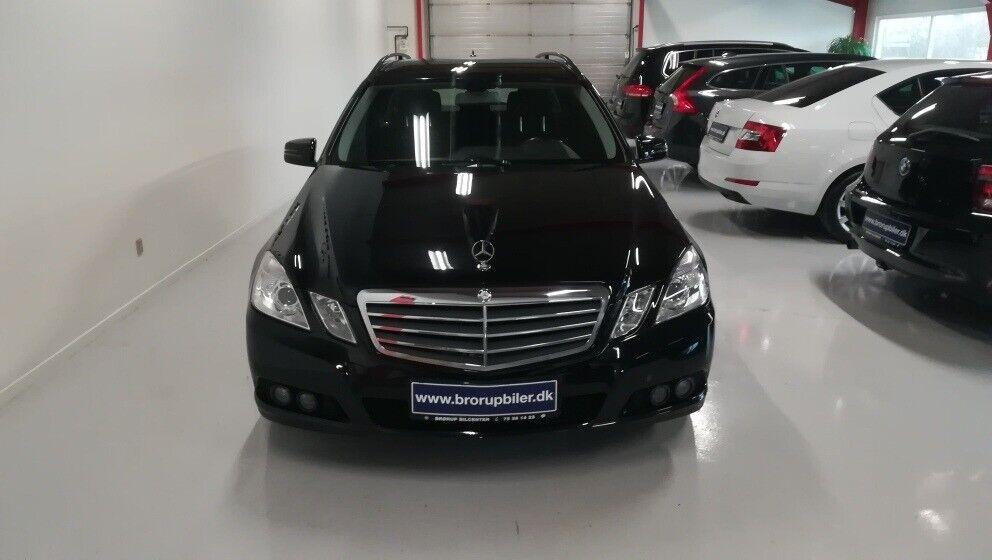 Mercedes E200 2,2 CDi Elegance stc. aut. BE 5d - 134.900 kr.