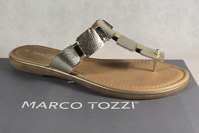 Marco Tozzi Toe Thong Mules Flip Flops Mules Sandals 27115 New | eBay