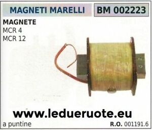 001194.6 Bobina Acc A Puntine Centralina Motore Magneti Marelli Mcr4 Mcr12 Artisanat Exquis;