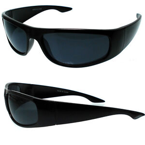 MEN DARK LENS GANGSTER BLACK OG SUNGLASSES LOCS BIKER | eBay