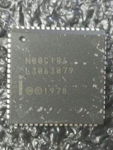 PLCC68 N80C186XL16-16-BIT HIGH INTEGRATION EMBEDDED PROCESSOR
