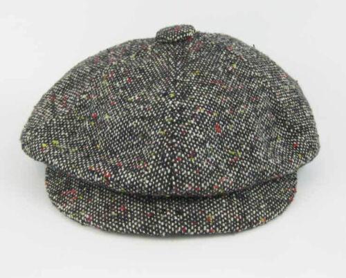 Vintage Tweed Hat Baker Boy Newsboy Gatsby Blinder