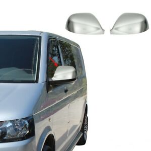 VW Transporter T5.1 CHROME Mirror Covers 2 pcs S.Steel