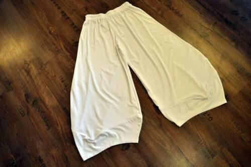 A 50 Lagenlook Pantaloni Palloncino°bianco°tg Rafinierte ° Angoli 48 44 46 FzwI6