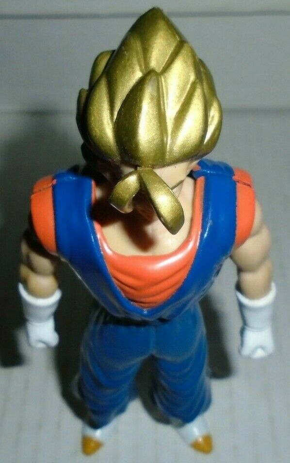 Vegetto gold hair variant Dragon Ball Z action figure Irwin 1996