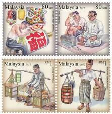 Malaysia 2012 Traditional Livelihood (4v) ~ Mint