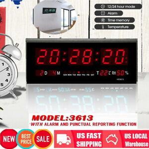 Digital-Large-Big-Jumbo-LED-Wall-Desk-ALARM-Clock-With-Calendar-Temperature-Hot