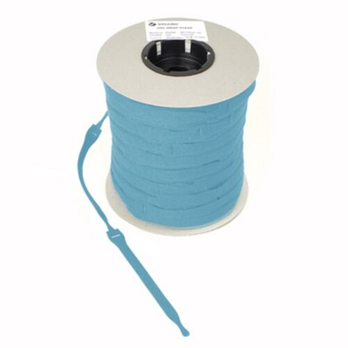VELCRO® Brand ONE-WRAP® 10 x 20mm x 200mm Cable Tie AQUA Double Sided Strapping