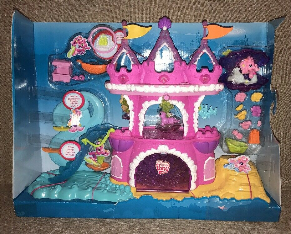 My My My Little Pony Mermaid Pony Castle 5ae791