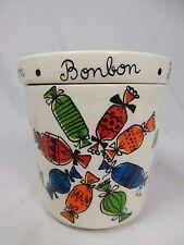Schöne 60´s design GOEBEL Keramik Bonbon Leckerli Betthupferl Deckel Dose 8,5 cm