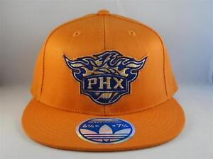 b9c4e55e Phoenix Suns NBA Adidas Flex Cap Hat Size S/M Orange 760555727400 | eBay