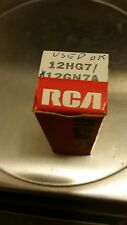USED TUBE, RCA 12HG7/12GN7A Vacuum Tube - tested AS USED OKAY/GOOD