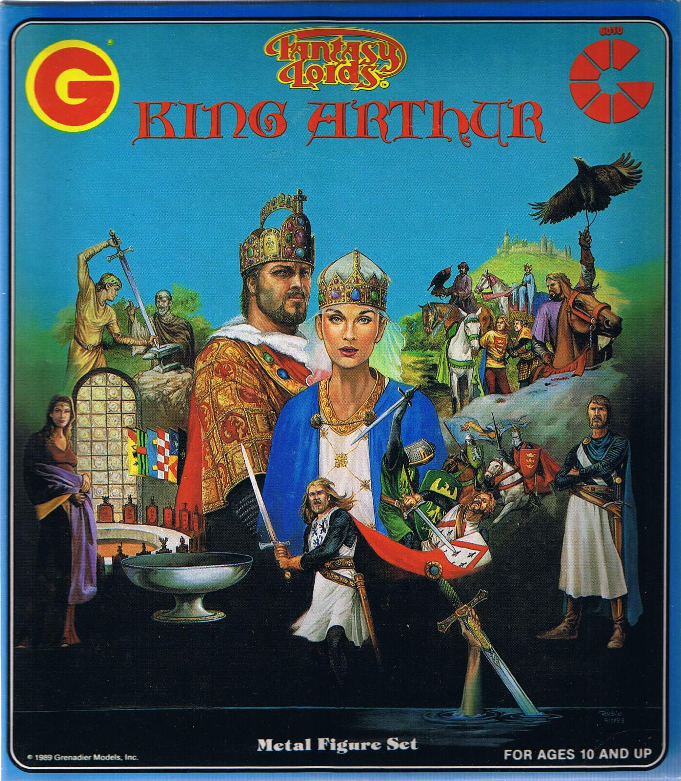 Grenadier-FANTASY LORDS-King Arthur  Comme neuf SEALED Boxed Set  articles de nouveauté