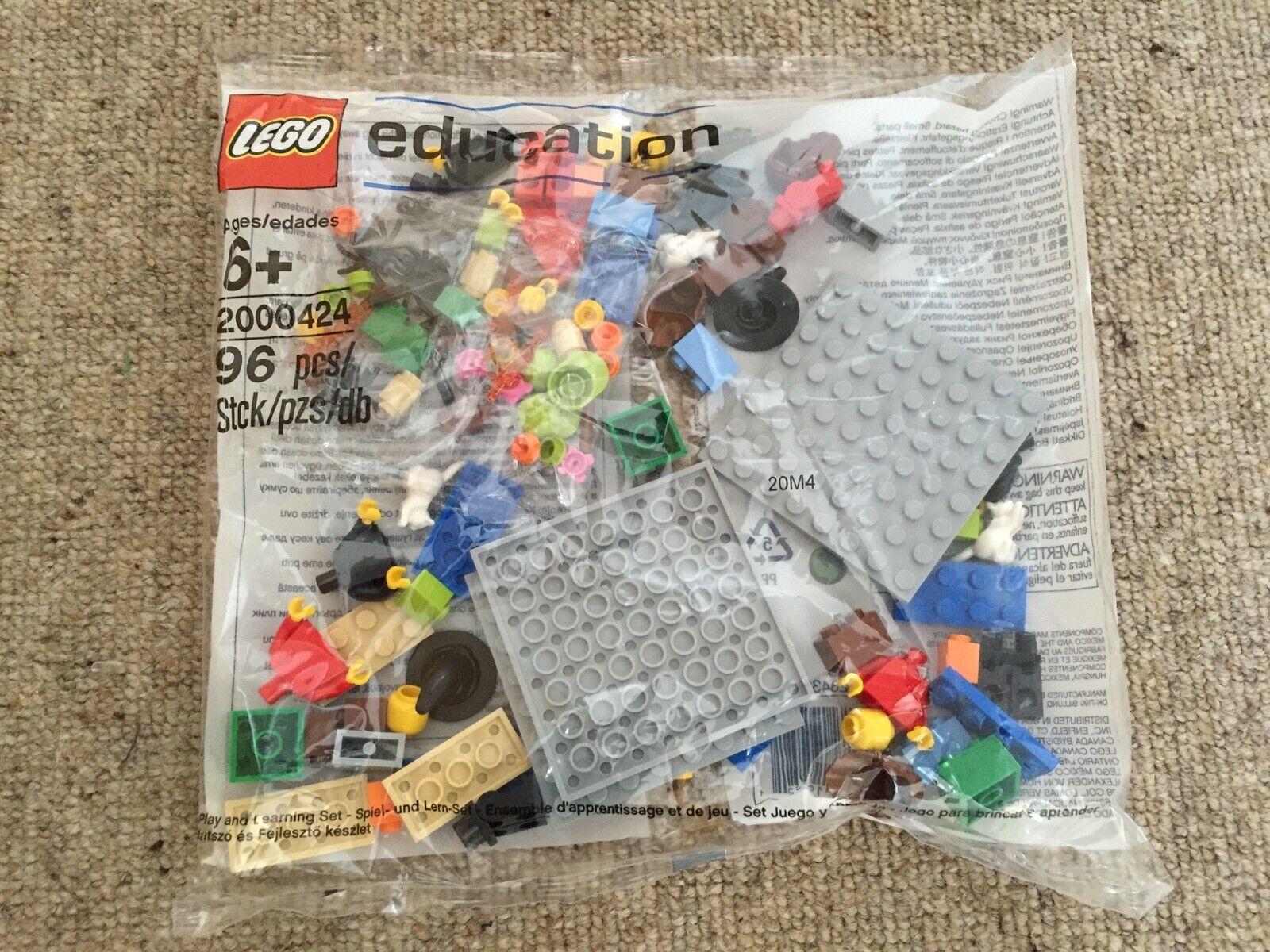 LEGO 2000424 EDUCATION - STORY STARTER SAMPLE SET - SEALED POLYBAG - RARE