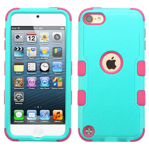 Hard /& Soft Rubber Hybrid High Impact Durable Case iPod Touch 5th 6th 7th Gen