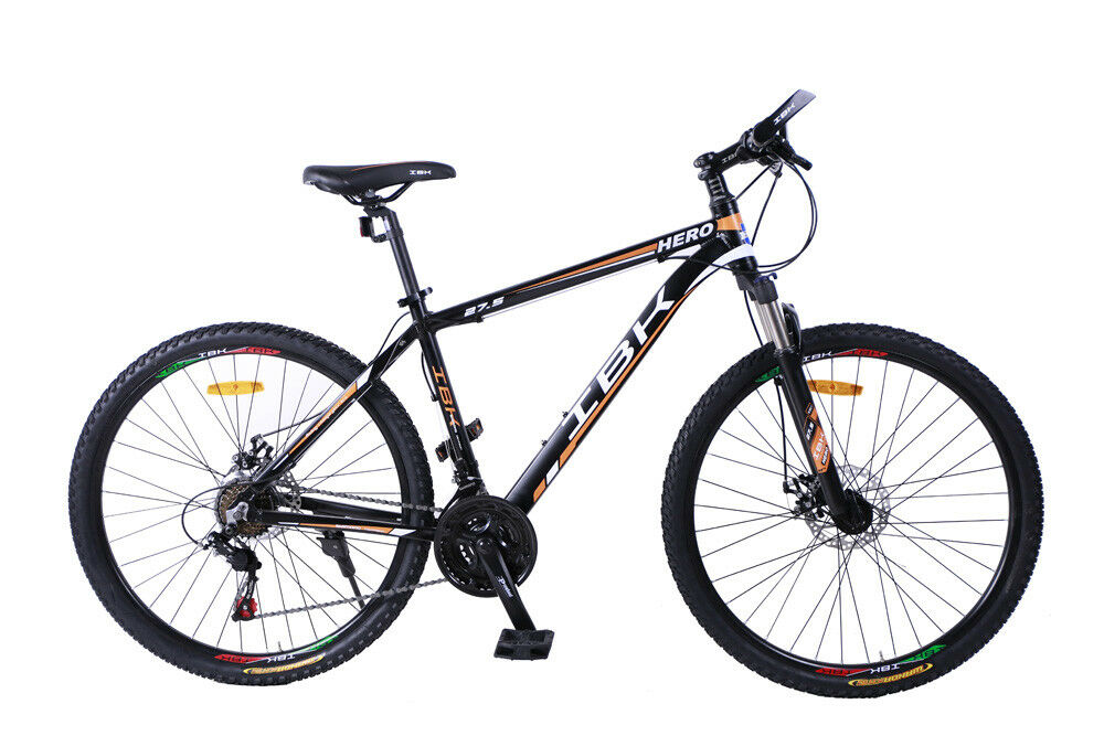 BICI BICICLETA MTB IBK 27.5 HERO 7 VEL. SHIMANO FRONT SUSPENSIÓN MOUNTAIN BIKE
