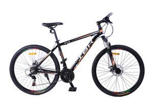 Dettagli Su Bici Bicicletta Mtb Adulto 275 Hero 21v Shimano Ammortizzata Mountain Bike Uomo