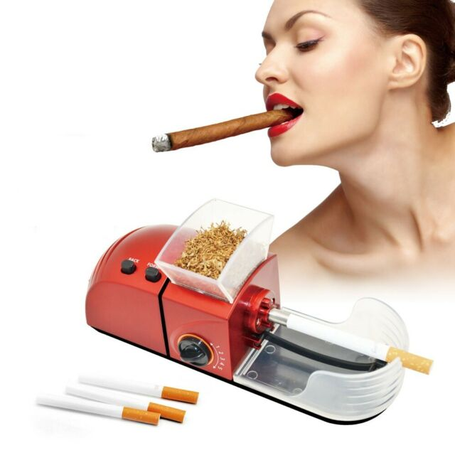 NEW 6.5 ULTRA SLIM ELECTRIC Cigarette INJECTOR Tobacco Rolling Machine C-84AS
