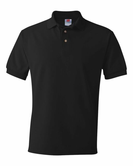 Hanes ComfortSoft 100% Cotton Pique Polo Sport Shirt 055X Mens Sizes S-6XL Golf