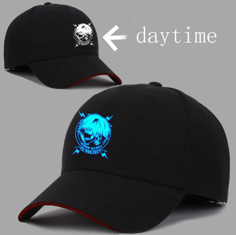 Hot Anime Tokyo Ghoul Logo Hat Quality Baseball Cap Casual High Quality Hat 204e57