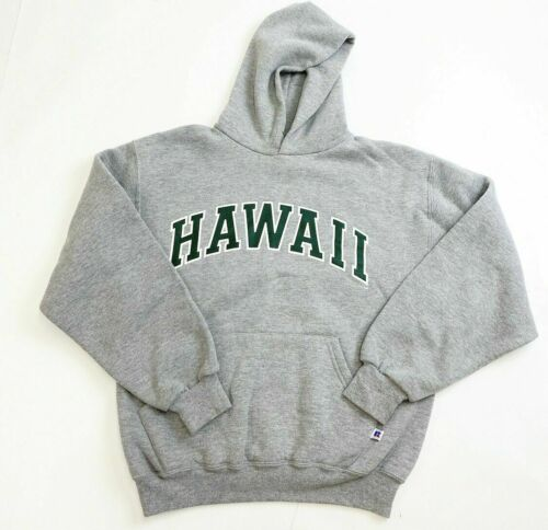 Vintage Russell Athletic Hawaii Hoodie Mens Medium