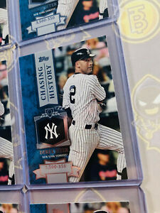 Details About 9x Derek Jeter Chasing History Ch 60 2013 Topps Baseball Card Lot Nmm Mint