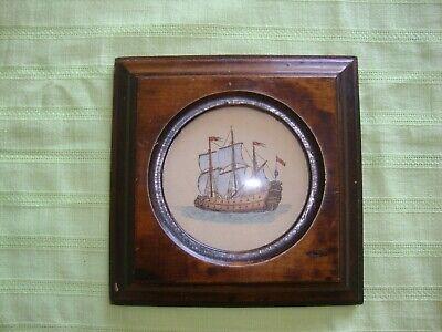 Ausdrucksvoll Segel Boot Schiff Blau Nautical Maritim Kunstdruck? Dekoration Holzrahmen