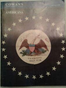 Cowans Historic Civil War Antique Americana Auctions 2003 Catalog Book Ebay