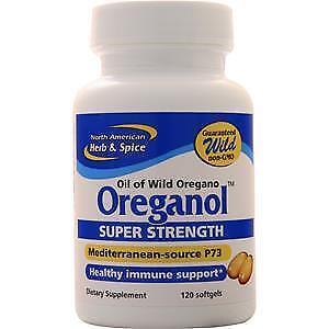 North American Herb Spice Oreganol Super Strength 120 Sgels 635824006947 Ebay