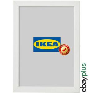 IKEA FISKBO Bilderrahmen 21 x 30 cm weiß A4 Fotorahmen Bilder Foto Rahmen NEU