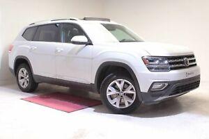 2018 Volkswagen Atlas HIGHLINE+TOIT PANO+CUIR+AWD