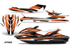 Sea Doo GTI/GTR/GTS HD Sitdown Jet Ski SeaDoo Graphic Wrap Kit 11-14 ATTACK ORNG