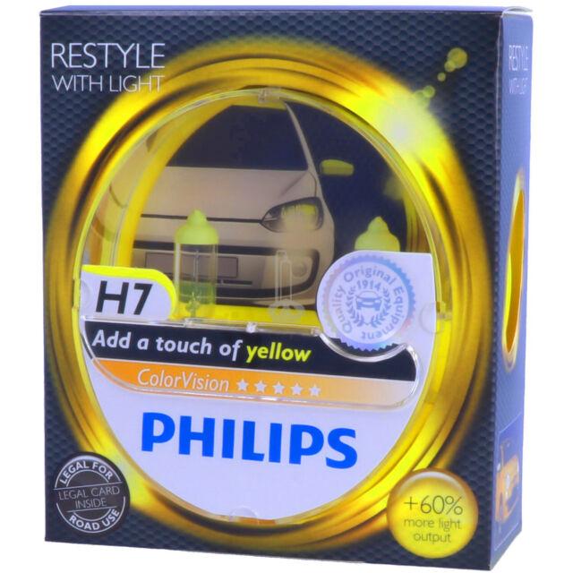 H7 philips Colorvision jaune-styling avec lumière-DUO-Box